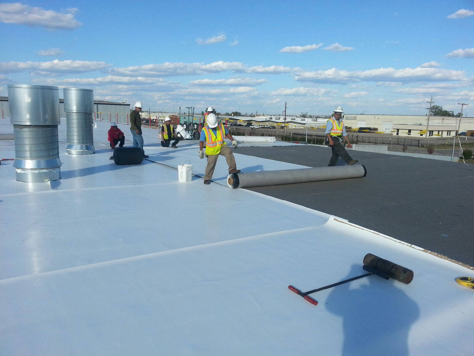 Types of commercial roofing advancements